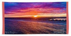 Blue Shutter East Beach Beach Towel