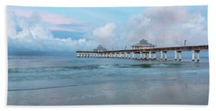 Beach Towel featuring the photograph Blue Skies by Kim Hojnacki