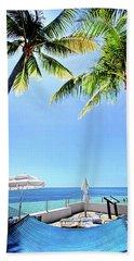 Beach Sheet featuring the photograph Blue Sky Breezes by Phil Koch