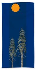 Blue Sky Beach Towel by David Dehner