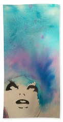 Blue Sky Beach Towel