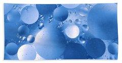 Blue Sphere Flow Beach Towel