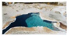 Blue Star Spring Beach Towel