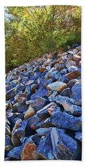 Blue Stone Hill  Beach Towel