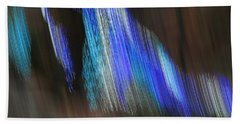 Blue Streak Beach Towel