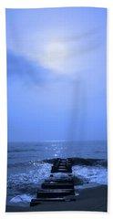 Blue Sunrise Beach Towel