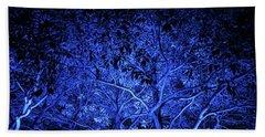 Blue Trees Beach Sheet