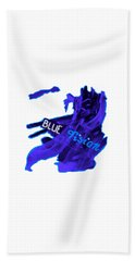 Blue Vision Beach Towel