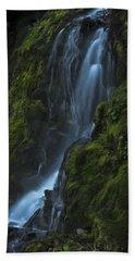 Blue Waterfall Beach Towel
