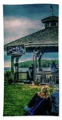 Blues On The Bay Beach Towel
