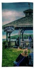 Blues On The Bay Beach Sheet