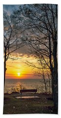 Bluff Bench Beach Towel