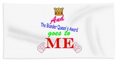 Blunder Queen Beach Towel