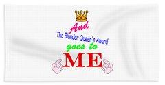 Blunder Queen Beach Sheet