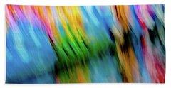 Blurred #5 Beach Towel