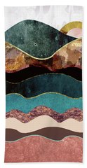 Blush Moon Beach Towel