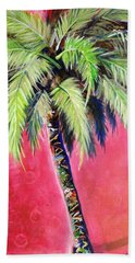 Blushing Pink Palm Beach Towel