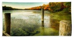 Blydenberg Park In The Fall Beach Sheet