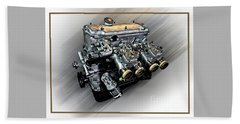 Bmw Motor 2 Beach Sheet
