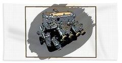 Bmw Motor 2002 Beach Sheet