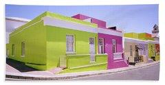 Bo Kaap Color Beach Towel by Shaun Higson