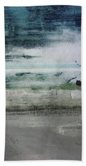 Boardwalk Blues 2- Art By Linda Woods Beach Towel