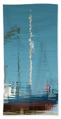 Beach Towel featuring the photograph Boat Of Ripples by Wendy Wilton