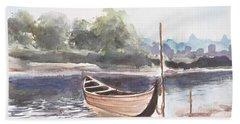Boat Ride Beach Sheet