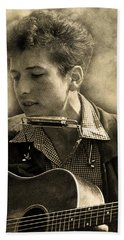 Bob Dylan Beach Towel