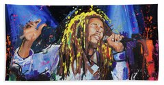 Bob Marley Beach Towel