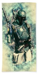 Boba Fett Beach Towel