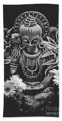 Beach Sheet featuring the photograph Bodhisattva Parametric by Sharon Mau