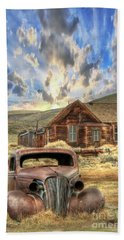 Bodie Ghost Town Beach Sheet by Benanne Stiens