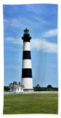 Bodie Island Lighthouse - Cape Hatteras National Seashore Beach Towel