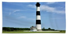 Bodie Island Lighthouse - Outer Banks Beach Towel
