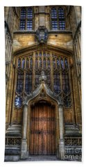 Bodleian Library Door - Oxford Beach Sheet