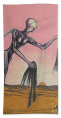 Body Soul And Spirit Beach Towel by Michael  TMAD Finney