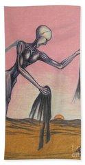 Body Soul And Spirit Beach Towel