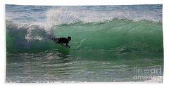 Body Surfer Beach Towel