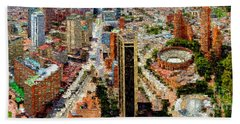 Bogota Colombia Beach Towel