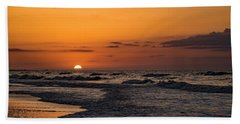 Bogue Banks Sunrise Beach Towel
