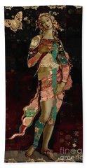 Boho Venus Beach Towel by Carrie Joy Byrnes