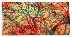Bold And Colorful Beach Towel