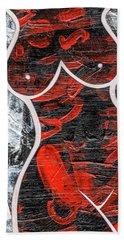 Bold Beach Towel by Roseanne Jones