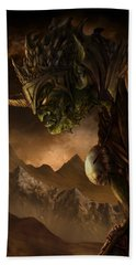 Bolg The Goblin King Beach Sheet