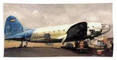 Bolivian Air Beach Sheet by Michael Cleere