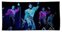 Bolivian Dancers, La Paz, Bolivia Beach Sheet