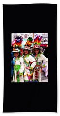 Bolivian University Student Dancers 1 Beach Towel
