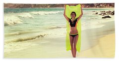 Bond Girl Laguna Beach Beach Towel