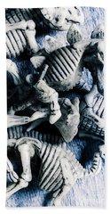 Bones From A Mass Extinction Event Beach Towel